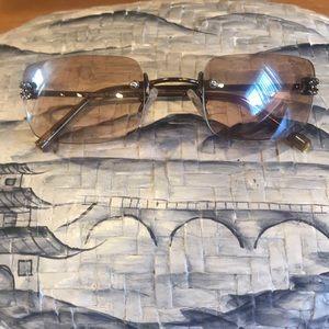 Chanel authentic vintage rimless sunglasses 90's